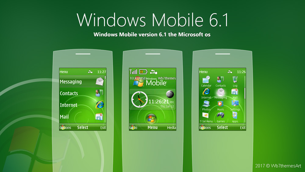 Windows Mobile 6.1 theme s40 240x320