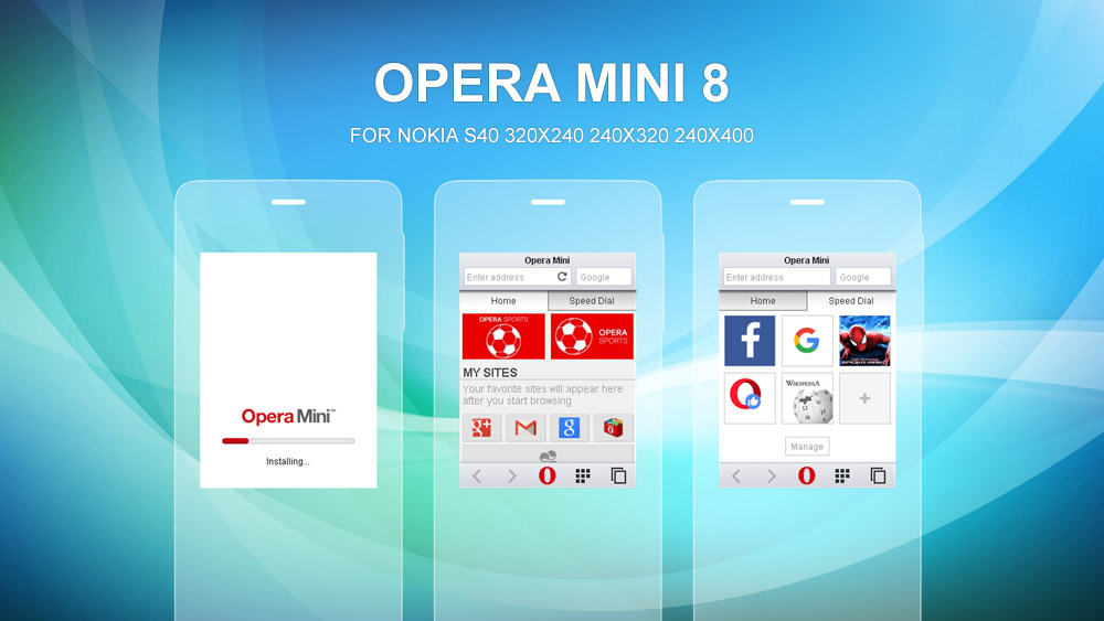 download opera mini version 8 for java