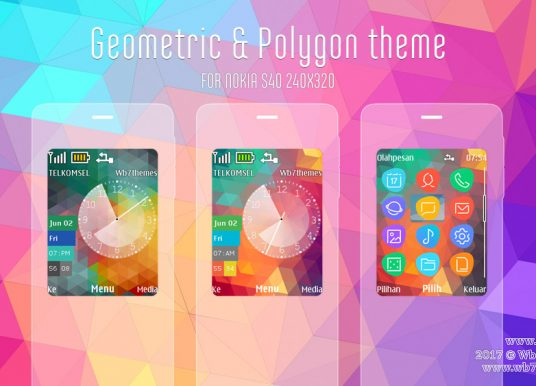Geometric and polygon theme X2-00 X2-02 Asha 207 208 301 240×320