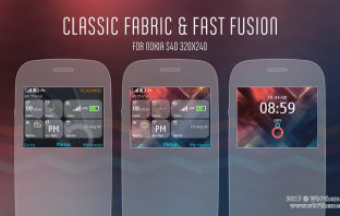 Classic fabric and Fast fusion theme s40 320x240 X2-01
