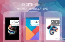 MI9 style theme Asha 311 309 308 full touch