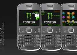 Monster energy theme s40 320×240 C3-00 X2-01 Asha 302 210