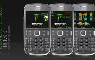 Monster energy theme s40 320x240 C3-00 X2-01