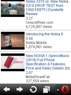 How to download Youtube videos on Nokia s40 complete with
