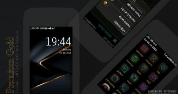 Premium Gold theme Asha 311 310 309 308 306 305 full touch