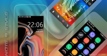 Samsung Note 9 style theme Asha 311 310 309 308 306 305 full touch s40