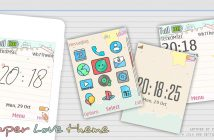 Paper love theme X2-00 X3-00 515 301 206 207 208 6300 X2-02 X2-05 s40 240x320
