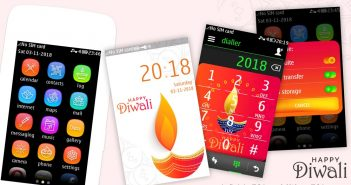 Diwali theme asha 311 310 309 308 306 305 full touch