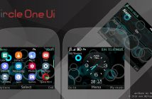 Circle one ui digital clock swf theme Asha 302 200 210 C3-00 s40 320x240