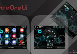 Circle one ui digital clock swf theme Asha 302 200 210 s40 320×240