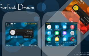 Perfect dream theme X2-01 C3-00 Asha 210 205 302 200 201 320x240