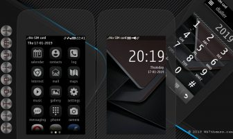 Titanium theme s40 240×400 Asha 311 305 306 308 309 310 full touch UI