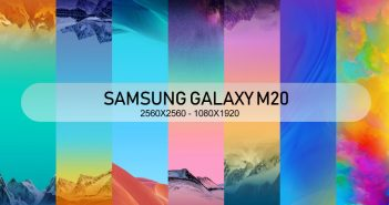 Samsung Galaxy M20 Stock wallpaper high res 2560x2560 1080x1080