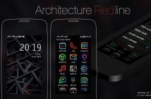 Architecture red line theme Asha 311 310 309 308 306 305 full touch