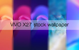 Vivo X27 stock wallpaper high resolution 1080x2340