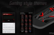 Gaming style theme Asha full touch 311 310 309 308 305 306 240x400