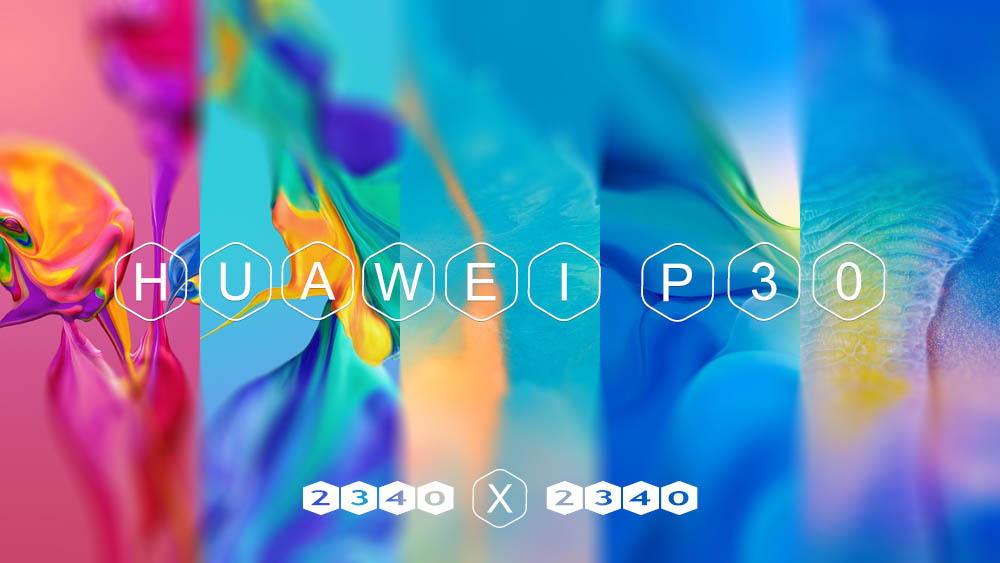 Huawei P30 stock wallpaper high resolutions 2340×2340