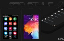 Galaxy A50 style theme Asha full touch 311 310 305 306 308