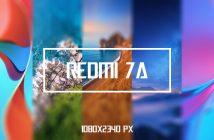 Xiaomi Redmi 7A stok wallpaper 1080x2340 px