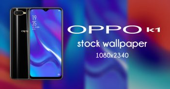 Oppo K1 stock wallpaper high resolutions 1080×2340