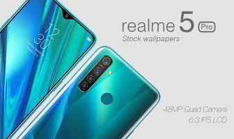 download Realme 5 Pro stock wallpaper 1080x2340 pixels