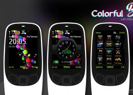 Colorful ball with battery signal swf theme X2-00 6700 6500