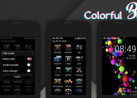 Colorful balls theme Asha full touch 311 310 305 306