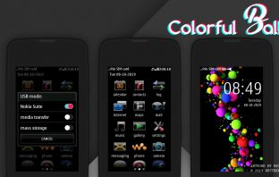Colorful balls theme Asha full touch 311 310 305 306 308 309 240x400