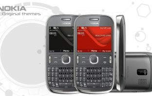 Nokia Asha 302 original stock themes download here