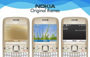 Nokia C3-00 original themes