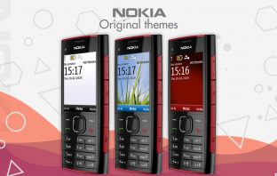 Download Nokia X2-00 original themes wallpapers screensavers