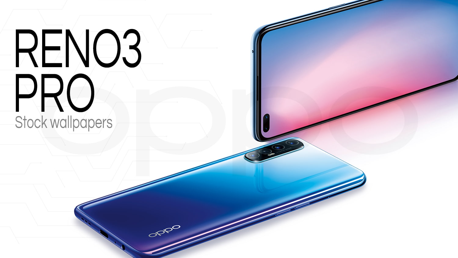 Oppo Reno 3 pro stock wallpaper collection download