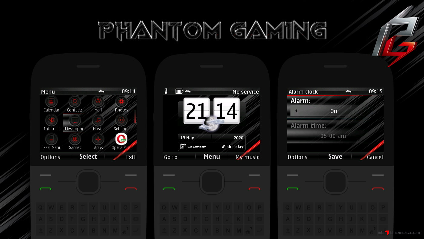 Phantom gaming swf live theme Asha 302 C3-00 X2-01 210 205 200 201