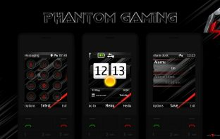 Phantom gaming swf live theme X2-00 X3-00 5310 X2-02 X2-05 6233 208