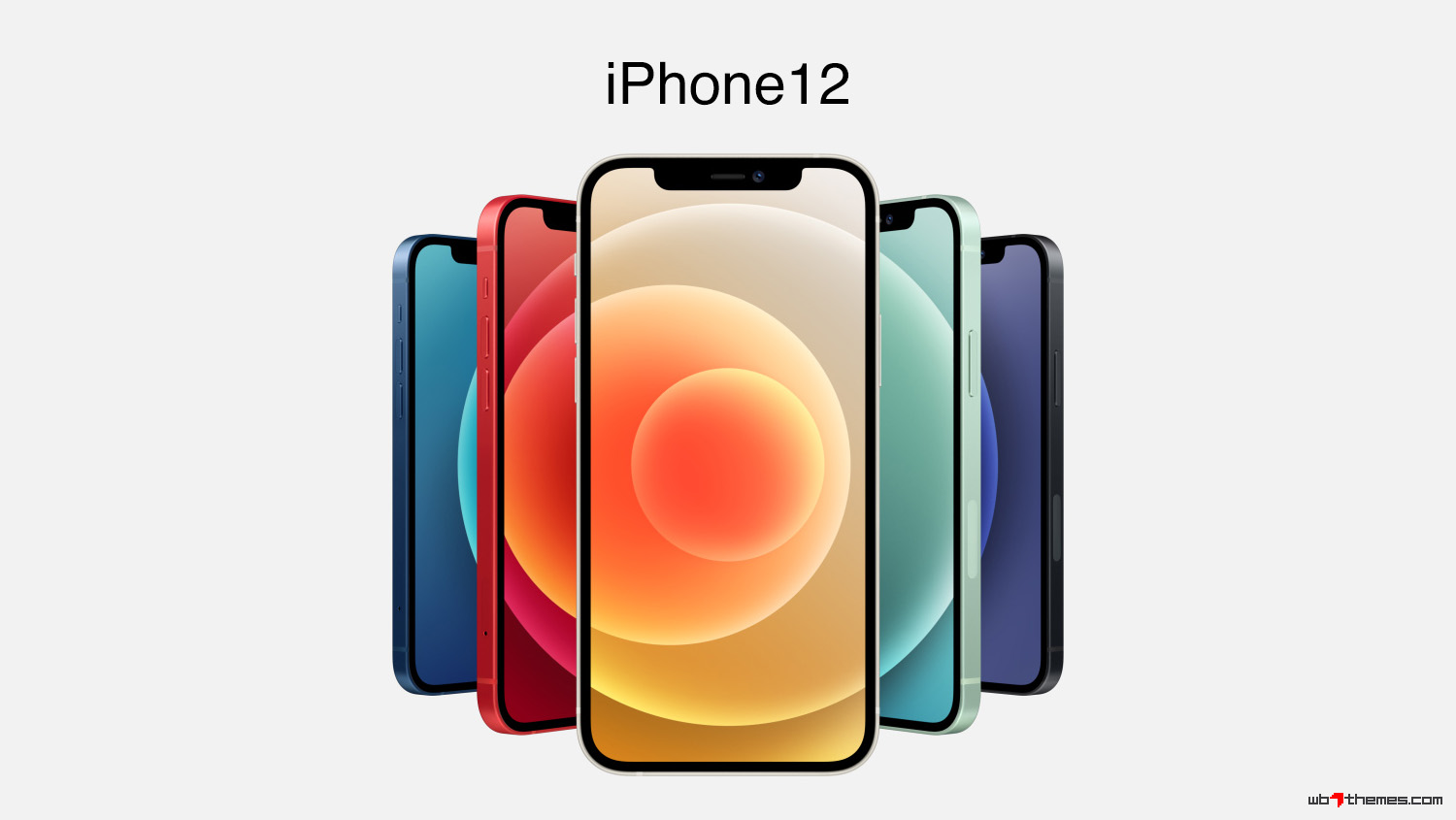 iPhone 12 iOS 14.1 stock wallpaper collection 1356x2934 px