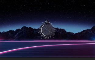 EQClock 1.0 music visualizer ram meter cpu meter skin for rainmeter