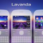 Lavanda swf theme C3-00 X2-01 Asha 210 302 205 200 Wb7themes