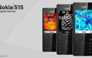 Nokia 515 original themes download for s405th s406th 240×320