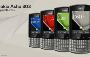 Nokia Asha 303 original themes for other devices Touch type s40 240x320