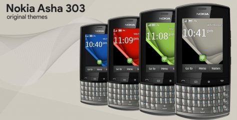 Nokia Asha 303 original themes for other devices Touch type s40 240×320