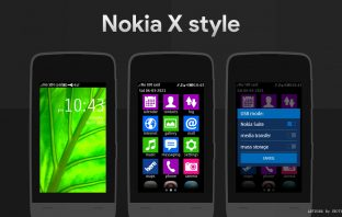Nokia X nth theme Asha 310 310 309 308 306 305 full touch