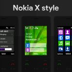 Nokia X swf wallpaper theme X2-00 206 6300 x2-05 by wb7themes