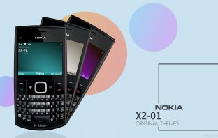 Original themes and wallpaper from Nokia X2-01 Qwerty