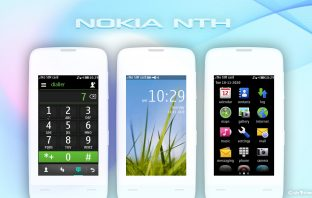 Nokia nth default theme Asha 311 310 309 308 full touch 240x400
