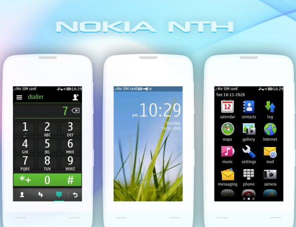 Nokia nth default theme Asha 311 310 309 308 full touch