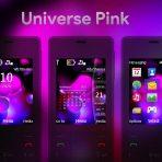 Universe pink swf theme 206 x2-00 x2-02 6300 wb7themes