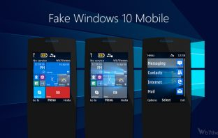Fake windows 10 mobile theme s40 240x320 X2-00 X3-00 s406th s405th