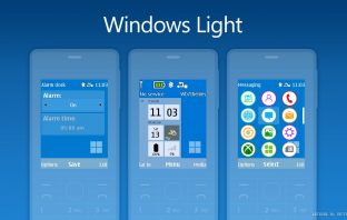 Windows Light Swf battery signal bar themes Nokia X2-00 X3-00 206 6300