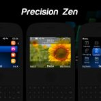 precision zen blackberry 8520 theme c3-00 x2-01 asha 210 205