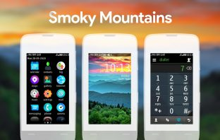 Smoky mountains theme Asha 311 310 309 308 306 305
